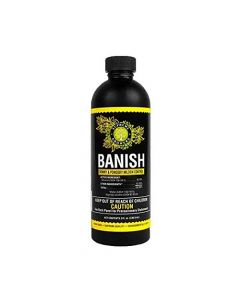 Banish, All Natural Fungicide Downey & Powdery Mildew Control, Manages Pests & Disease, Proprietary Mixture of Powerful Natural Geraniol, Organic Ingredients, 8oz Mixes to 60 Gallons