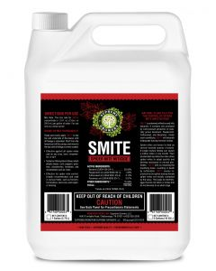 Supreme Growers SMITE Spider Mite Killer, All Natural Pesticide Concentrate, Non-Toxic, Biodegradable, Organic Eco Friendly Pest Control (1 Gallon Concentrate - Makes 128 Gallons)