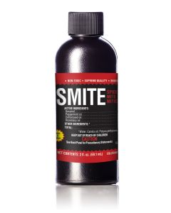 Supreme Growers SMITE Spider Mite Killer, All Natural Pesticide Concentrate, Non-Toxic, Biodegradable, Organic Eco Friendly Pest Control (2oz Concentrate - Makes 2 Gallons)