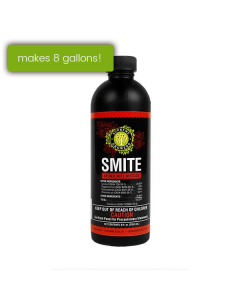 Supreme Growers SMITE Spider Mite Killer, All Natural Pesticide Concentrate, Non-Toxic, Biodegradable, Organic Eco Friendly Pest Control (8oz Concentrate - Makes 8 Gallons)
